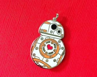 Star Wars The Last Jedi BB-8 Heart Hard Enamel Pin