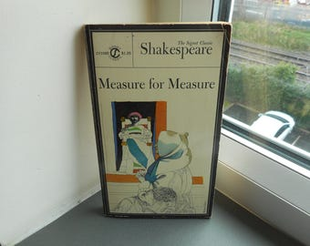 William Shakespeare - Measure for Measure - signet classic - paperbacks fiction theatre literature drama plays new american library vintage