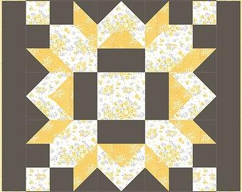 Barn Star PDF Quilt Pattern #127