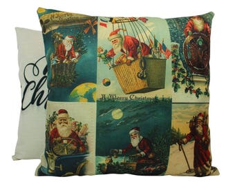 Vintage | Merry Christmas | Throw Pillow | Christmas Pillow | Home Decor | Christmas Pillowcases | Christmas Decor | Winter Decor Ideas