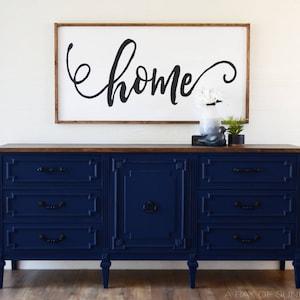 Blue Dresser Etsy