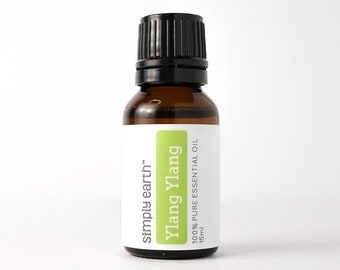 Ylang-ylang Essential Oil 15ml by Simply Earth | 100% Pure