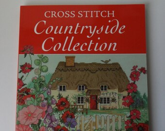 Cross Stitch Countryside Collection book, new (#B10)