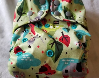 Custom  Knight Diaper you choose type and size Nb/Sm or Onesize