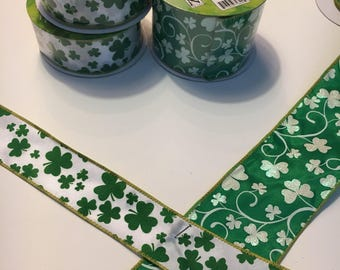 St. Patricks Day decorative Ribbons