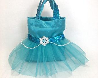 12 Frozen Inspired Tutu Favor Bags