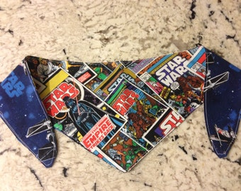 Tie-on Dog Bandana in Star Wars - XSmall/Small/Medium/Large/XLarge