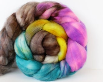 Crystal Lady 4 oz Merino softest 19.5 micron Roving Top for spinning