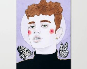 Original Illustration • Les Papillons II • Les Animeaux