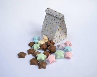 12 Stellar Fortunes origami fortune stars