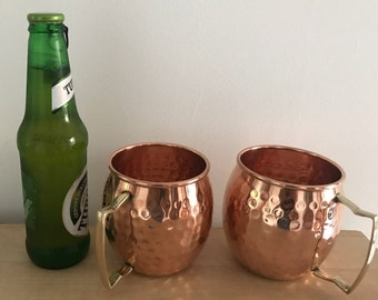 pure copper mugs, copper cups, Moscow mule beer mugs, beer mug, 100% copper mug, , Drinking mugs, beer mugs, anniversary gift, beer cups