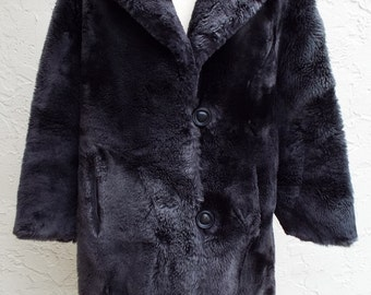 Amazing Vintage Faux Fur Coat for her by Kluger