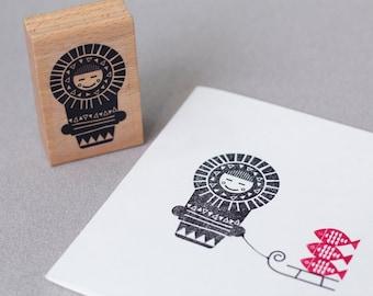 Stamp Eskimo