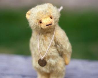 Artist teddy bear, teddy bear, mohair teddy bear, OOAK bear, Syomushka