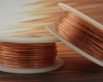 Non Tarnish Copper Wire - 100% Guarantee YOU Pick Gauge 14, 16, 18, 20, 21, 22, 24, 26, 28, 30, 32