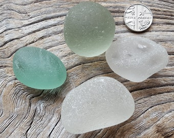 Roundies Pack 3 - 4 pieces (approx 100g) - Imogen's Beach - Seaham and North East England seaglass
