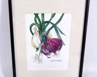 Kym Garraway Signed Limited Edition Botanical Print