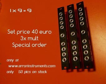 super sale !  multi set of 3 x eurorack 3hp