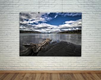Landscape Print, Beach House Art, Still Life Photography, Water Art, Photography, Jasper National Park