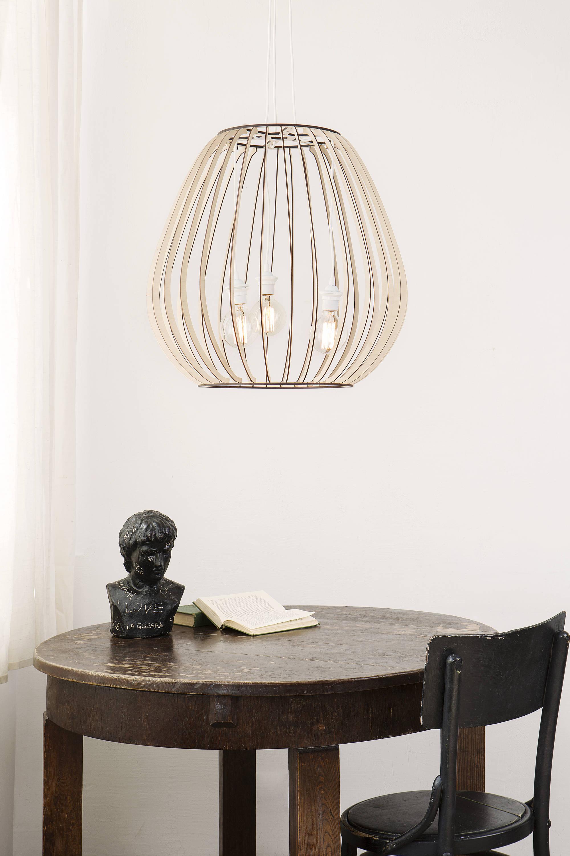Holz-Lampe / Holz Lampe / König Größe Lampe / hängende Lampe /