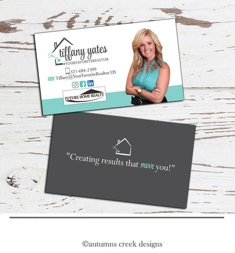 Business Card Design real estate business card real estate