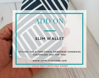 Slim Wallet Add-On (Only)
