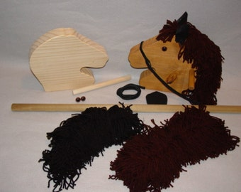 Wooden Stick Horse Kit