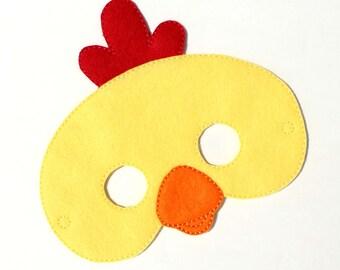 kids pig mask chicken costume felt maskkids face mask