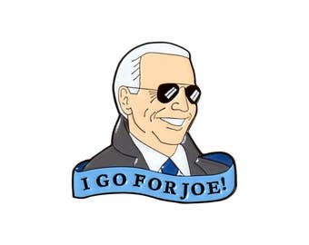 I go for Joe Biden enamel lapel pin