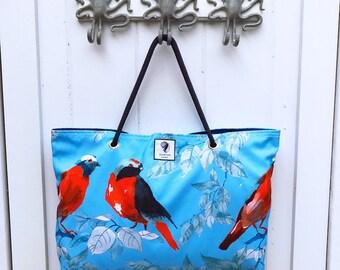 Morning Chat Classic Beach Bag