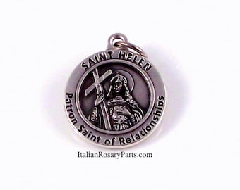 St Helen Medal Patron Saint of Relationships | Italian Rosary Parts