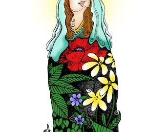 The Flower Maiden