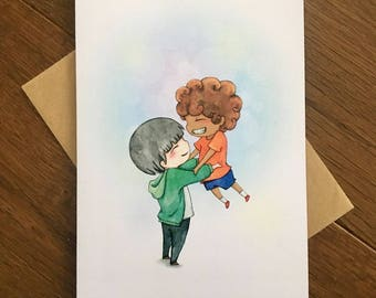 Light as Air - LGBT Valentine's Day Card