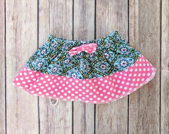Baby Girl Cotton Skirt,Infant Girl Cotton Clothes,Baby Girl Shower Gift Set