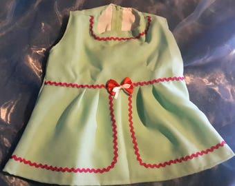 little green dress size 1 year
