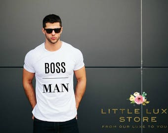 boss man shirt