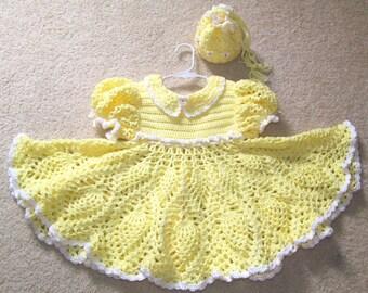 Girl's Yellow Dress, Yellow Dress & Matching Purse, Yellow Dress, Special Ocassion Dress, Girls Yellow Party Dress, Girls Yellow Reticule