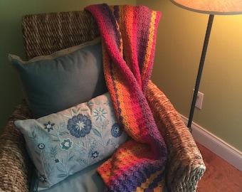 Funfetti Crochet Blanket