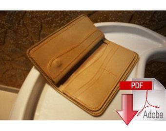 PDF Pattern long wallet