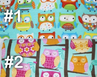 """Woodland Owl Extra Large Receiving Blanket - 36"""" x 42"""""""
