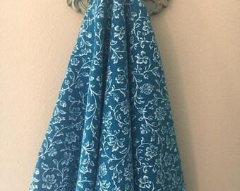 Gedenktag Verkauf Windeln Decke - floralen ranken - X-Large - Ultra weich