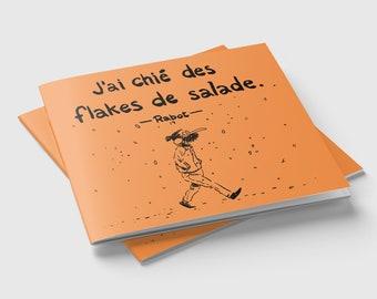 I shit in salads (fanzine) flakes
