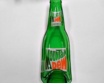Mountain Dew Longneck Pop Bottle spoon rest candy dish