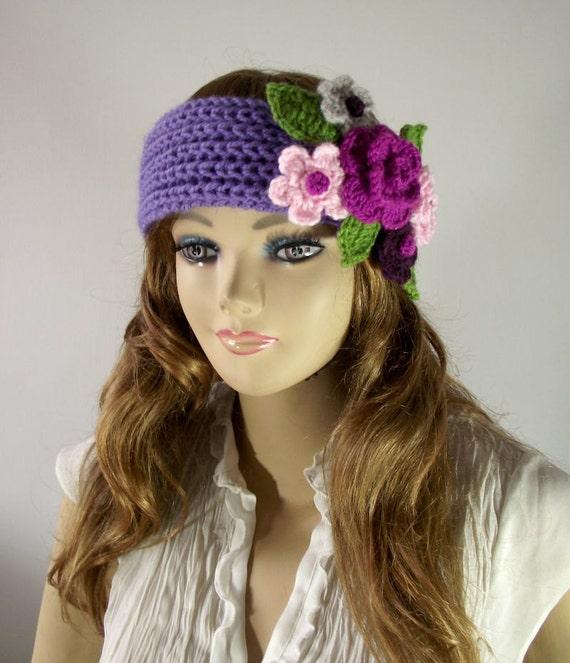 KNITTING PATTERN Headband - Primrose Headband Ear warmer crochet ...