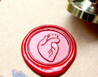 Buy 1 Get 1 Free - Wax Seal Stamp - 1pcs Heart Metal Stamp / Wedding Wax Seal Stamp / Sealing Wax Stamp (WS190)