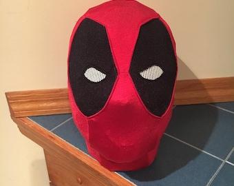 Deadpool Inspired Spandex Mask