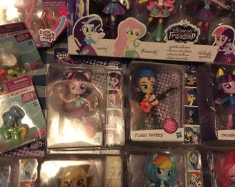 MLP Equestria Girls Mini figures