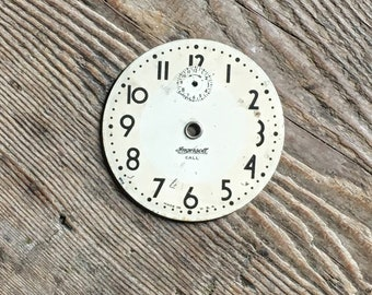 Vintage Clock Face Antique Clocks Supply Farmhouse Decor