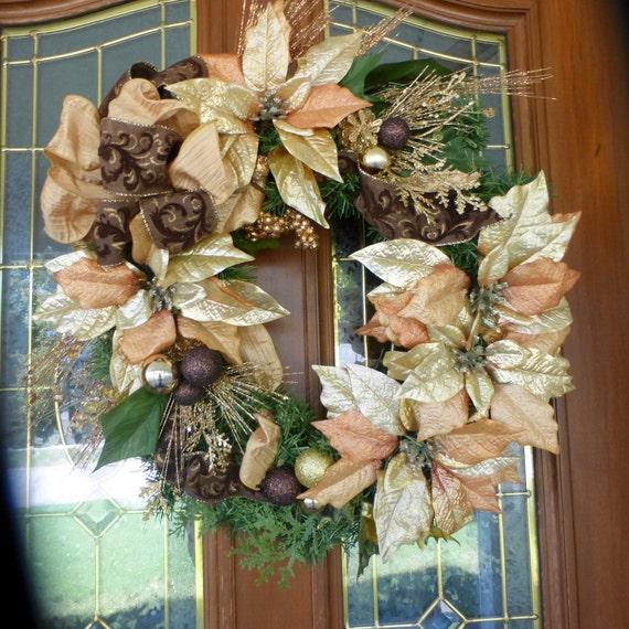 Elegant Christmas Decorations: Elegant Christmas Wreaths Christmas Decorations Wreaths