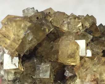 Yellow Fluorite Cordoba Spain